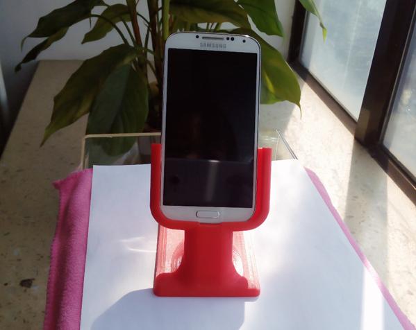 三星桌面支架 3D打印图片