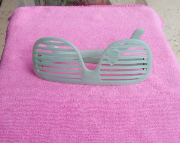 快门眼镜 3D打印图片