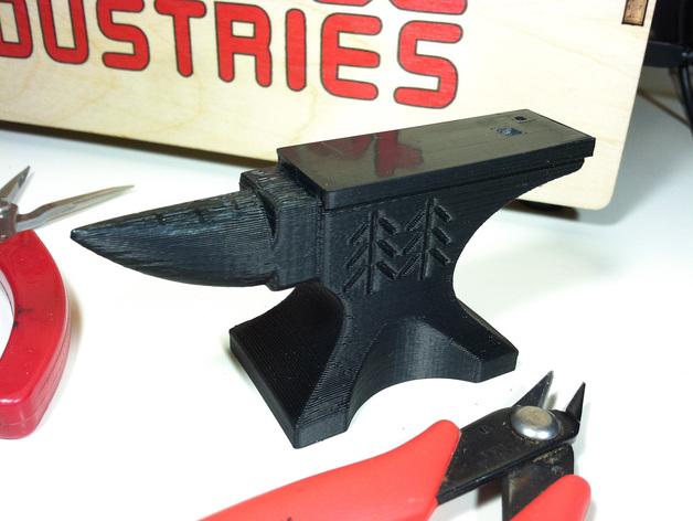 铁匠 铁砧 3D打印模型渲染图