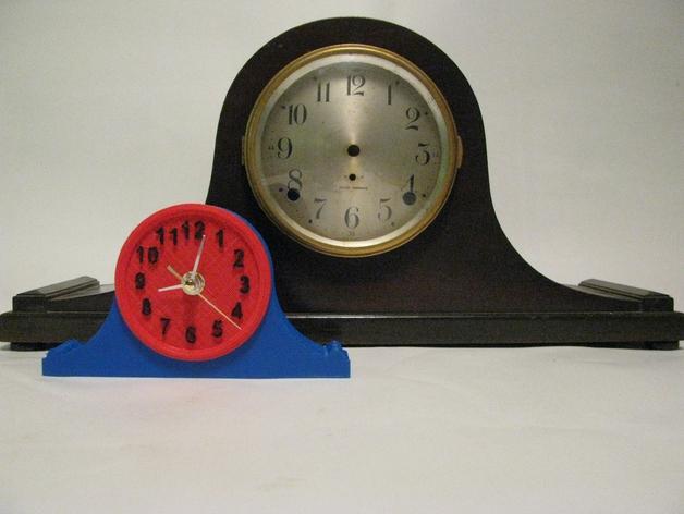台钟 3D打印模型渲染图