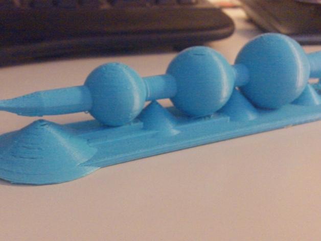 《哈利·波特》 老魔杖 3D打印模型渲染图