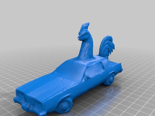 公鸡 轿车