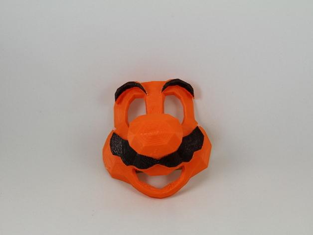 管道工 面具 3D打印模型渲染图