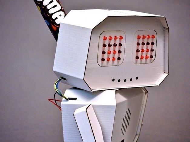 Arduino智能机器人 3D打印模型渲染图