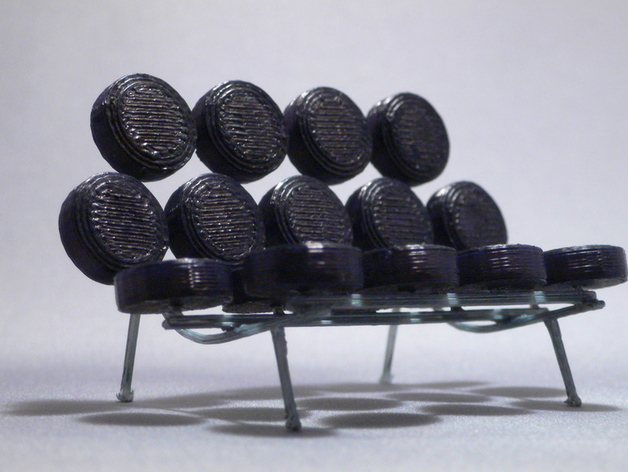 棉花糖沙发 3D打印模型渲染图