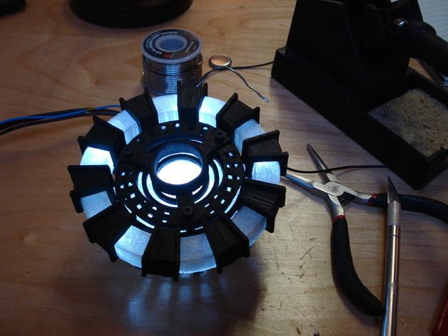 方舟反应炉 3D打印模型渲染图