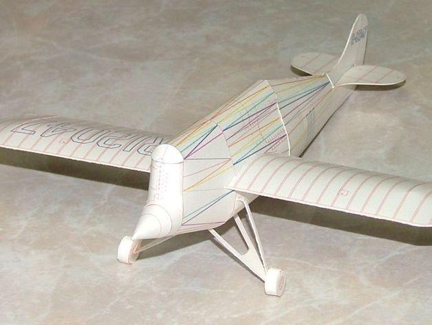 奥什科什飞机 3D打印模型渲染图