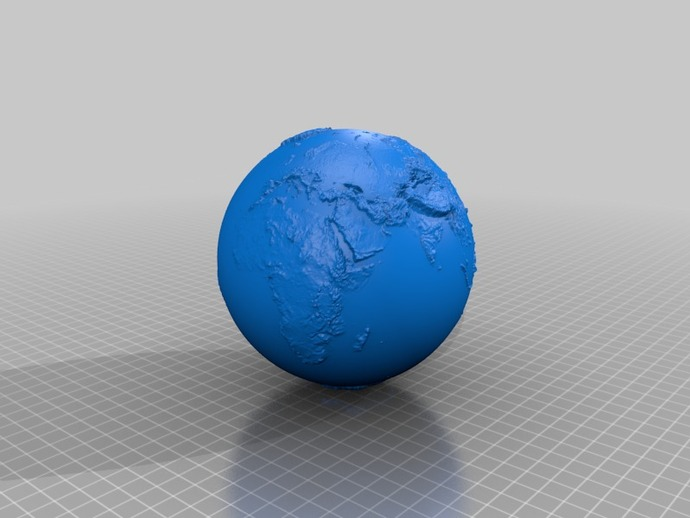 地球 地形图