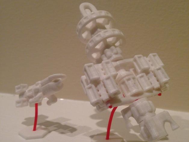 造船 启动器 3D打印模型渲染图