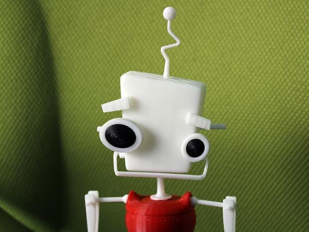 机器人 玩偶 3D打印模型渲染图