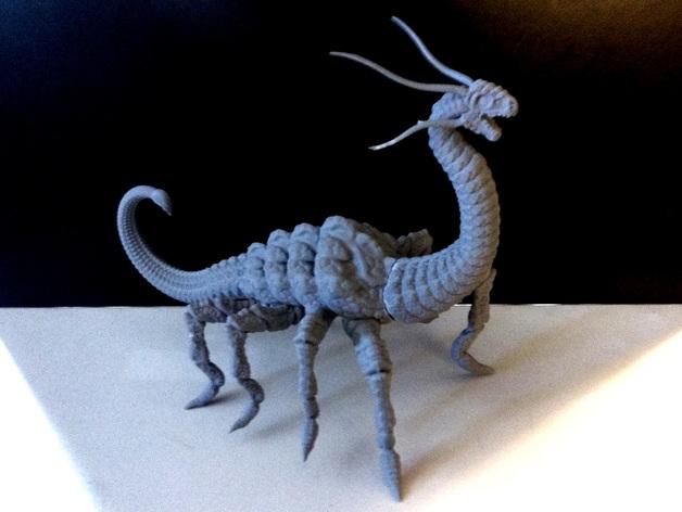 游戏《魔兽世界》 地狱野兽 3D打印模型渲染图