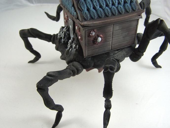 小屋 蜘蛛