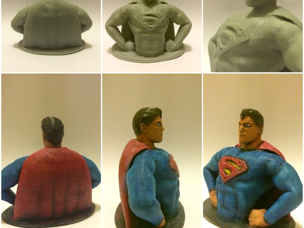 超人 半身像