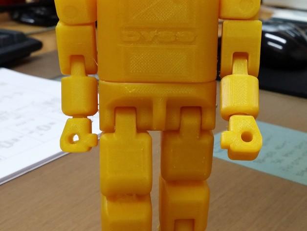 DYSS机器人 3D打印模型渲染图