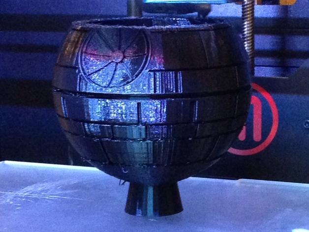 《星球大战》死亡星球 3D打印模型渲染图
