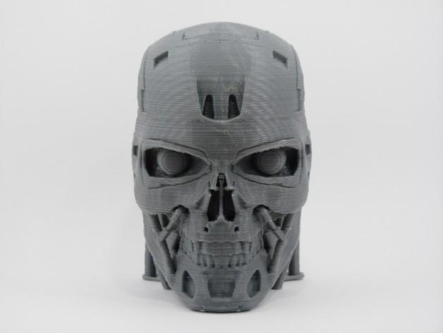 T-800机器人 头部