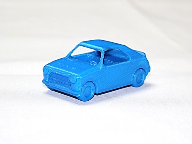 玩具车  3D打印模型渲染图