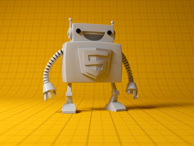 Html5机器人