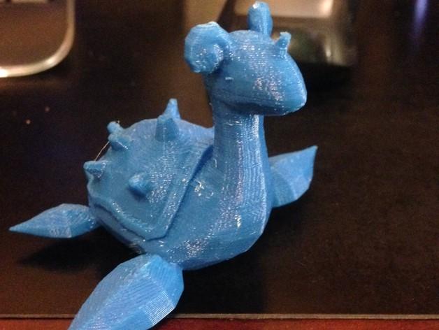 乘龙 3D打印模型渲染图