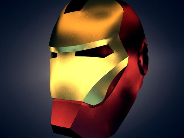 钢铁侠 头盔