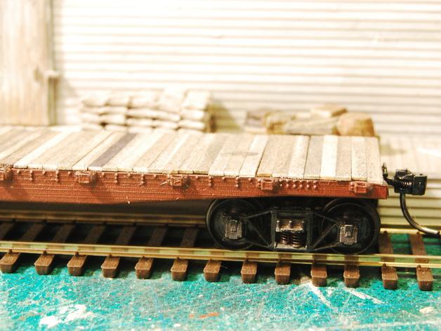 CS-35平板车 3D打印模型渲染图