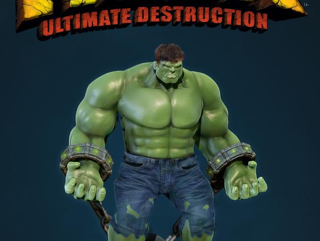 绿巨人浩克模型