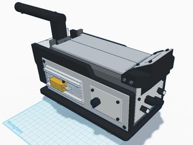 捉鬼敢死队  Ghost Trap鬼魂收集器  3D打印模型渲染图