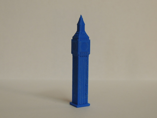 大本钟 3D打印模型渲染图
