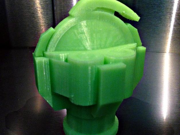 无主之地手雷支架 3D打印模型渲染图