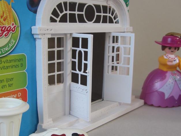 巴洛克式房屋 食品盒