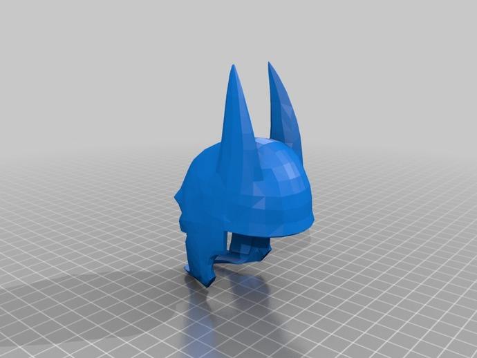 蝙蝠侠头盔