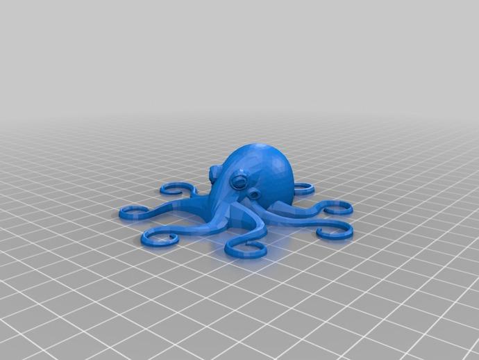 章鱼冰箱贴