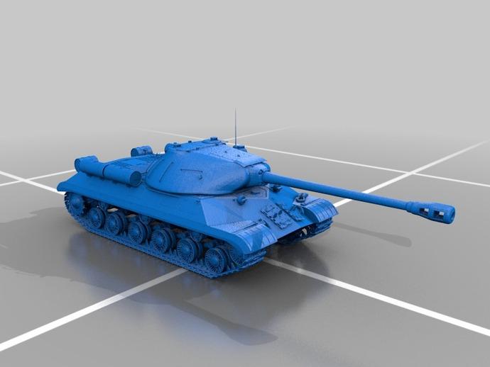 装甲车 坦克 3D打印模型渲染图