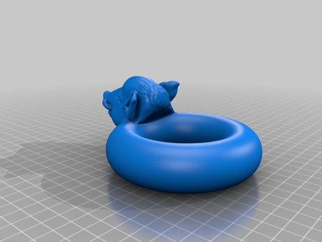 野猪游泳圈