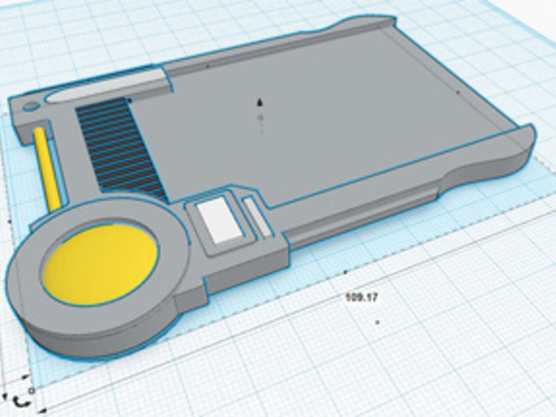 护照模具 3D打印模型渲染图