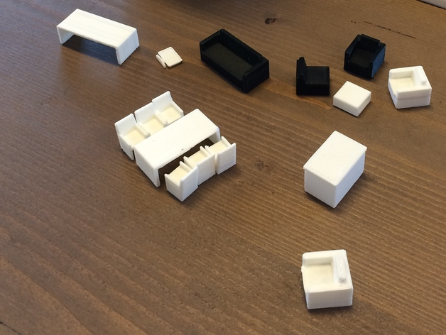 家具 3D打印模型渲染图
