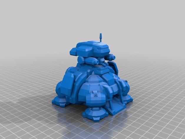 星际争霸指挥中心模型