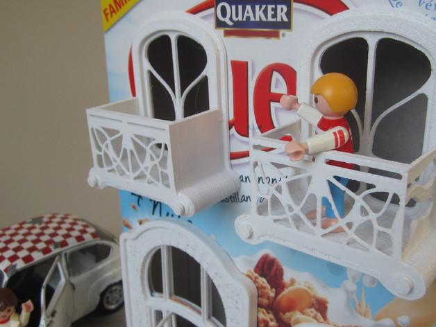 新艺术派房屋 饼干盒