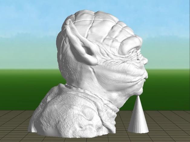 尤达大师雕塑