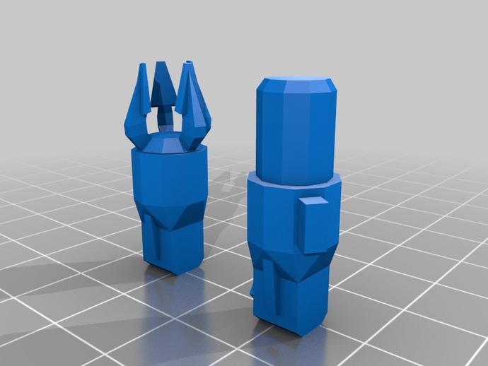 坦克世界 迷你机器人 3D打印模型渲染图