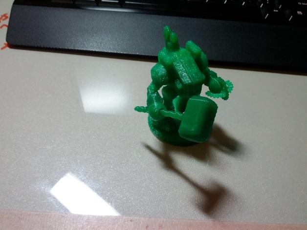 坦克世界 迷你机器人