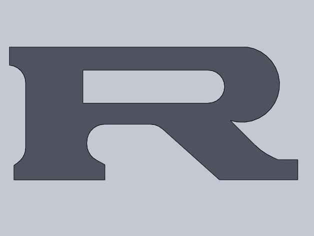 尼桑GTR汽车标志