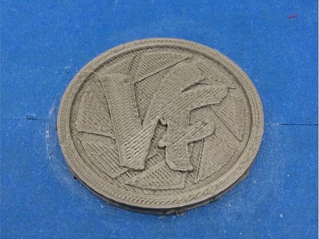 Vlogger交易会硬币徽章