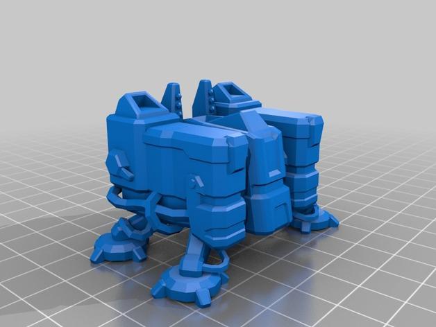 星际争霸 训练营 3D打印模型渲染图