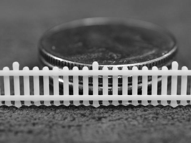 栅栏 篱笆 3D打印模型渲染图