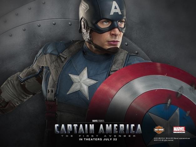 美国队长头盔