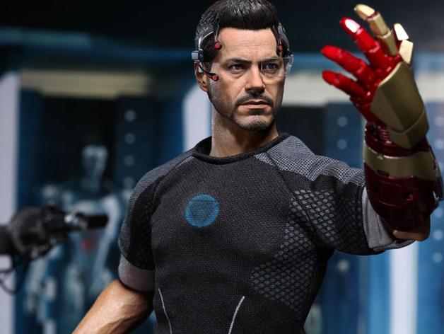 钢铁侠前臂盔甲 3D打印模型渲染图