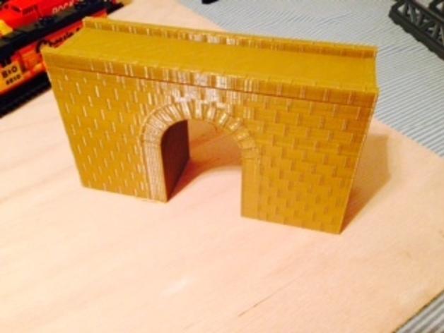火车道 砖块桥
