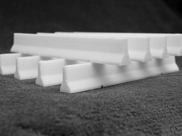 临时路障 3D打印模型渲染图