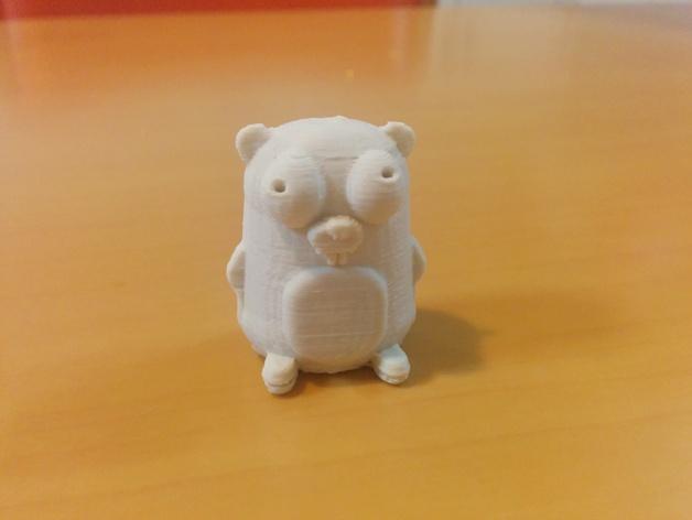 囊地鼠 吉祥物